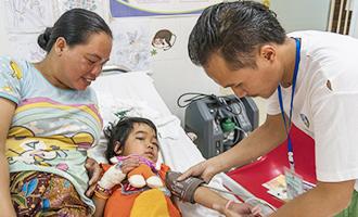 病院 ラオス 小児 中国四国小児外科医療支援機構